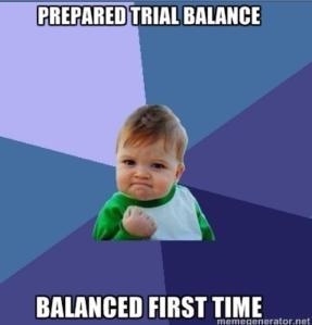 prepared TB balanced baby
